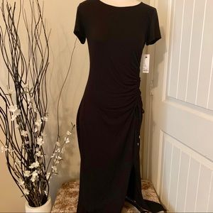 New with tags black Short-sleeved Maxi Apt9